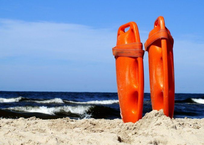 plage surveillée