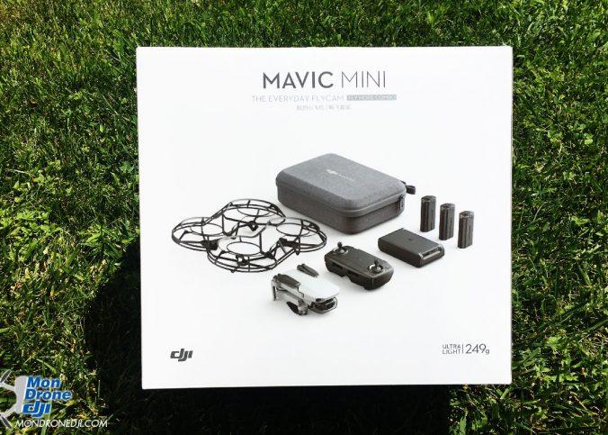 Mon Drone DJI - Mavic Mini déballage
